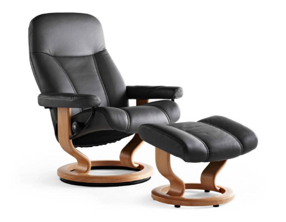 stressless consul s m l. Black Bedroom Furniture Sets. Home Design Ideas