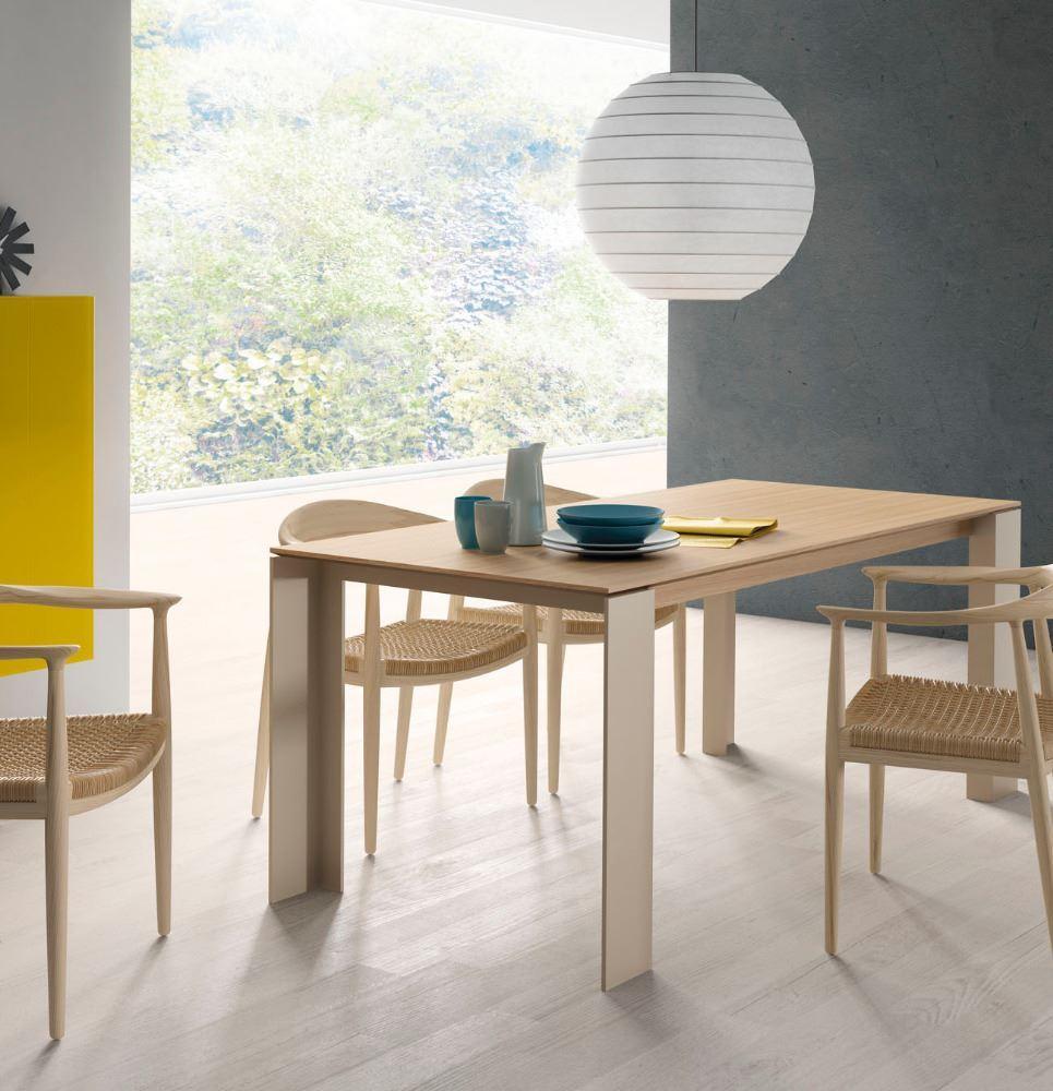 Mesa comedor extensible madera - Mesa comedor madera extensible ...
