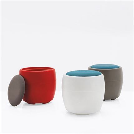 Pouff  candy, calligaris, connubia by calligaris, CB 3307, CB3307, puff, puf, pof, pof,